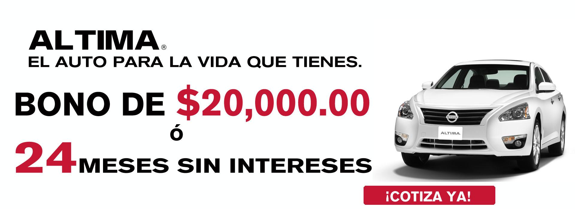 Nissan Altima Promoción