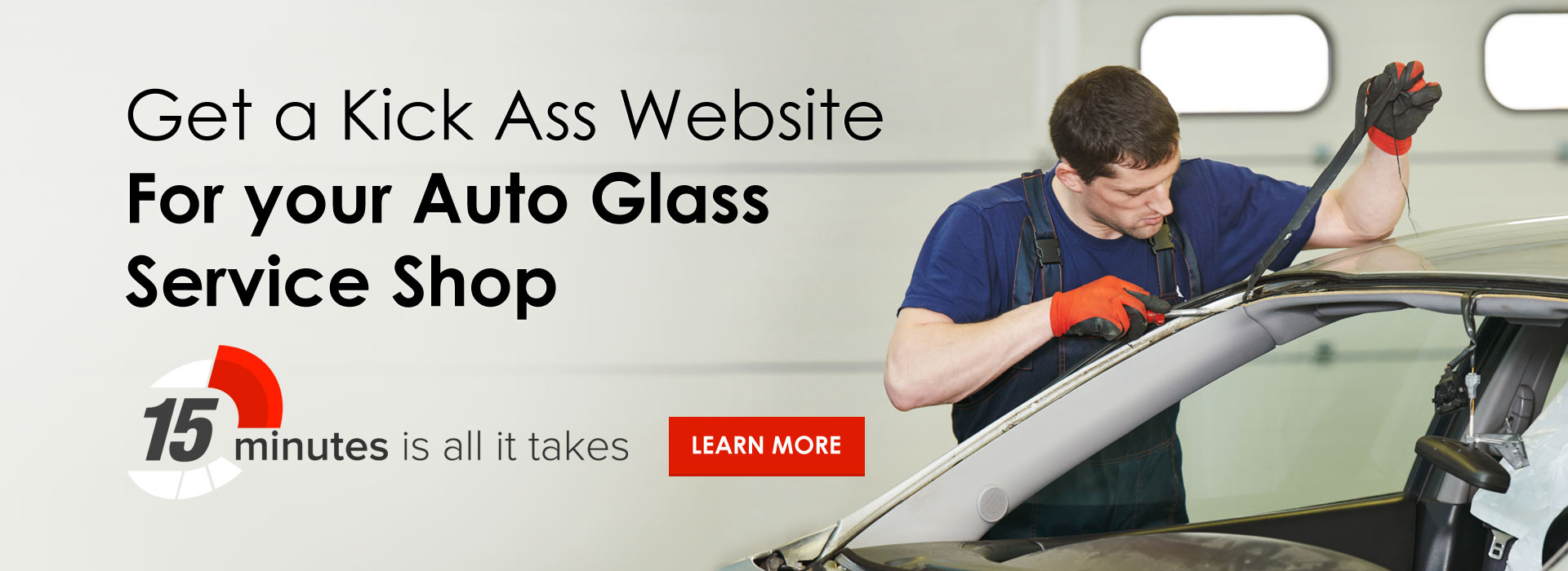 Auto Glass Service Shop Websites