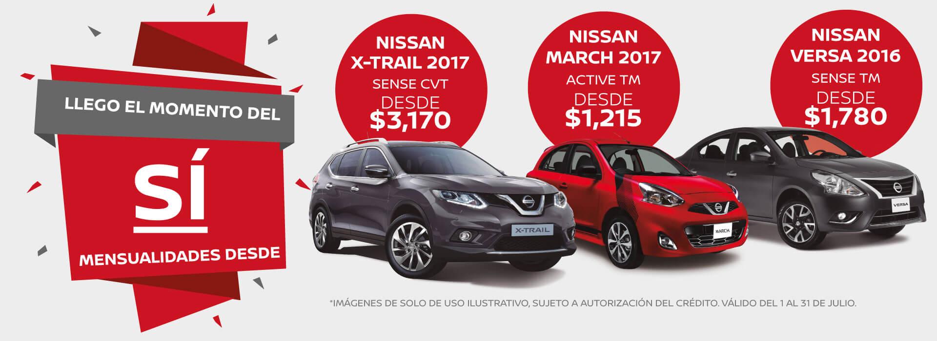 Promociones Julio Nissan