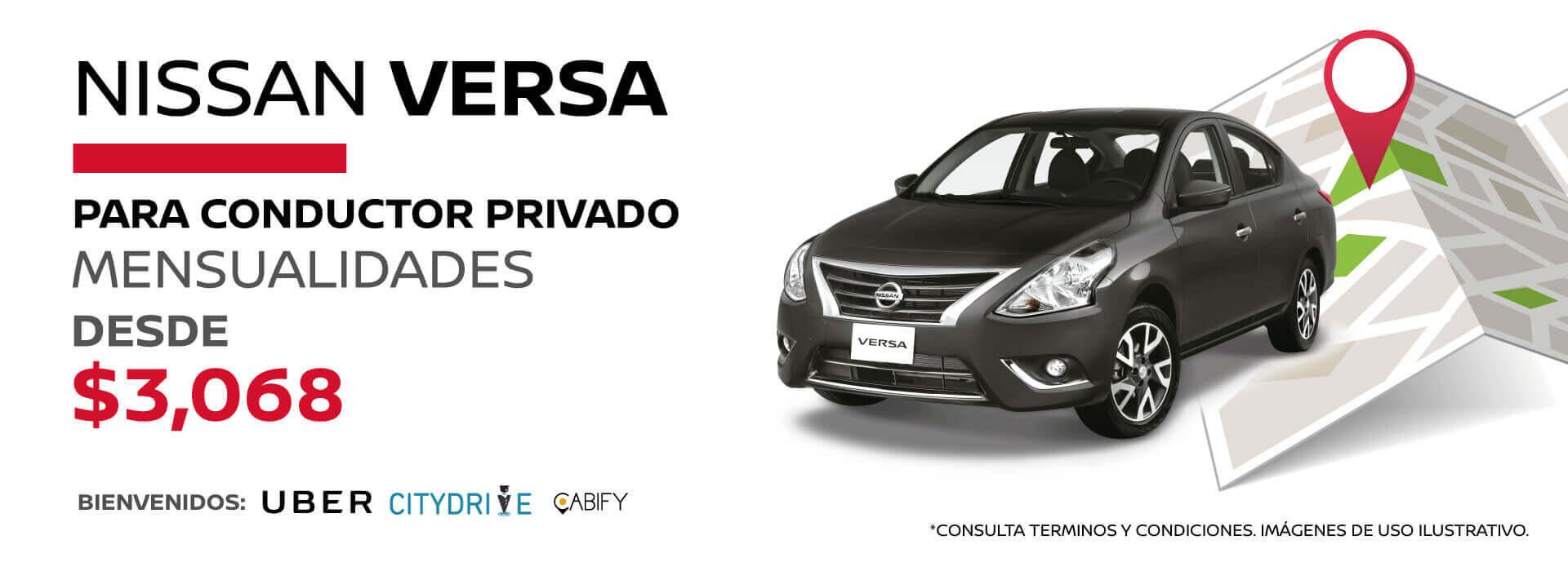 Chofer privado Nissan