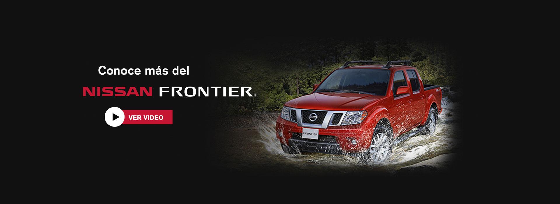 Conoce Nissan Frontier