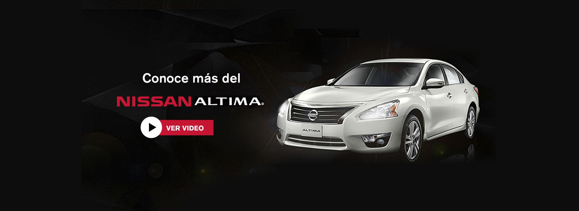 Conoce Nissan Altima