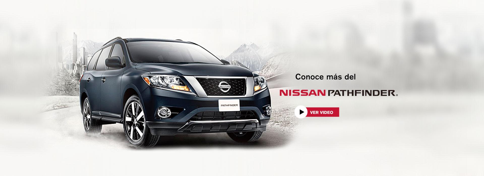 Conoce Nissan Pathfinder