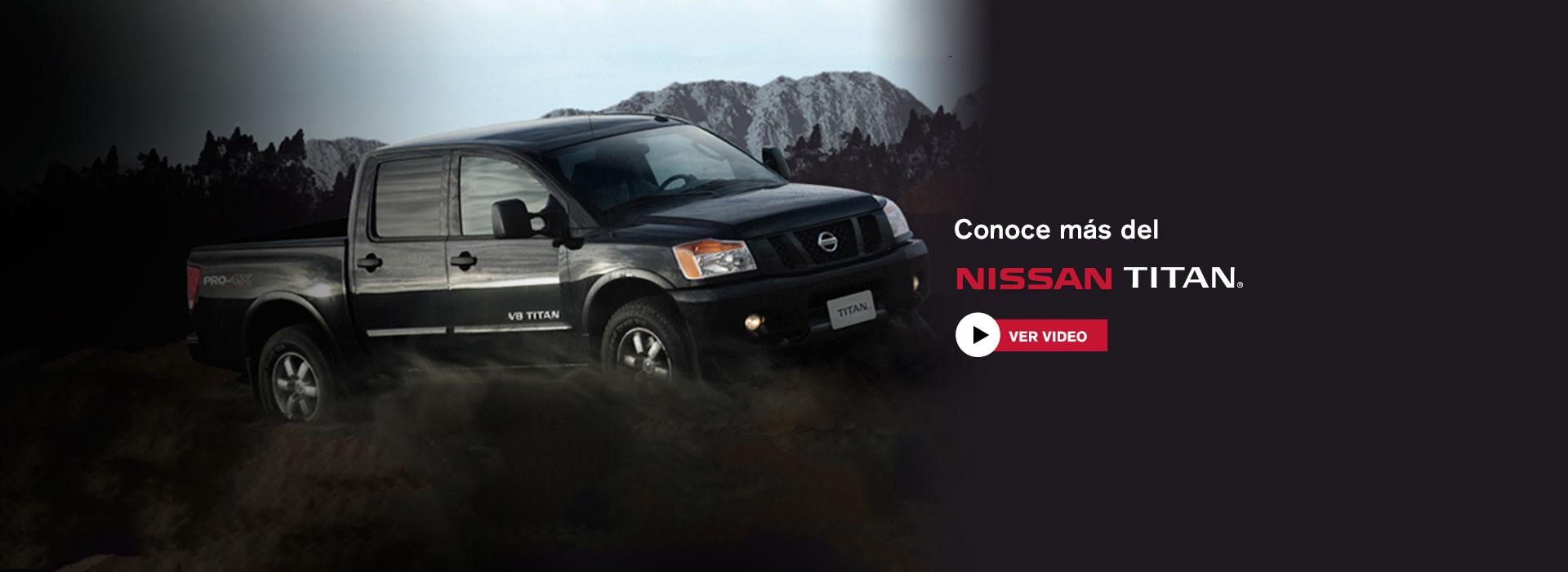 Conoce Nissan Titan