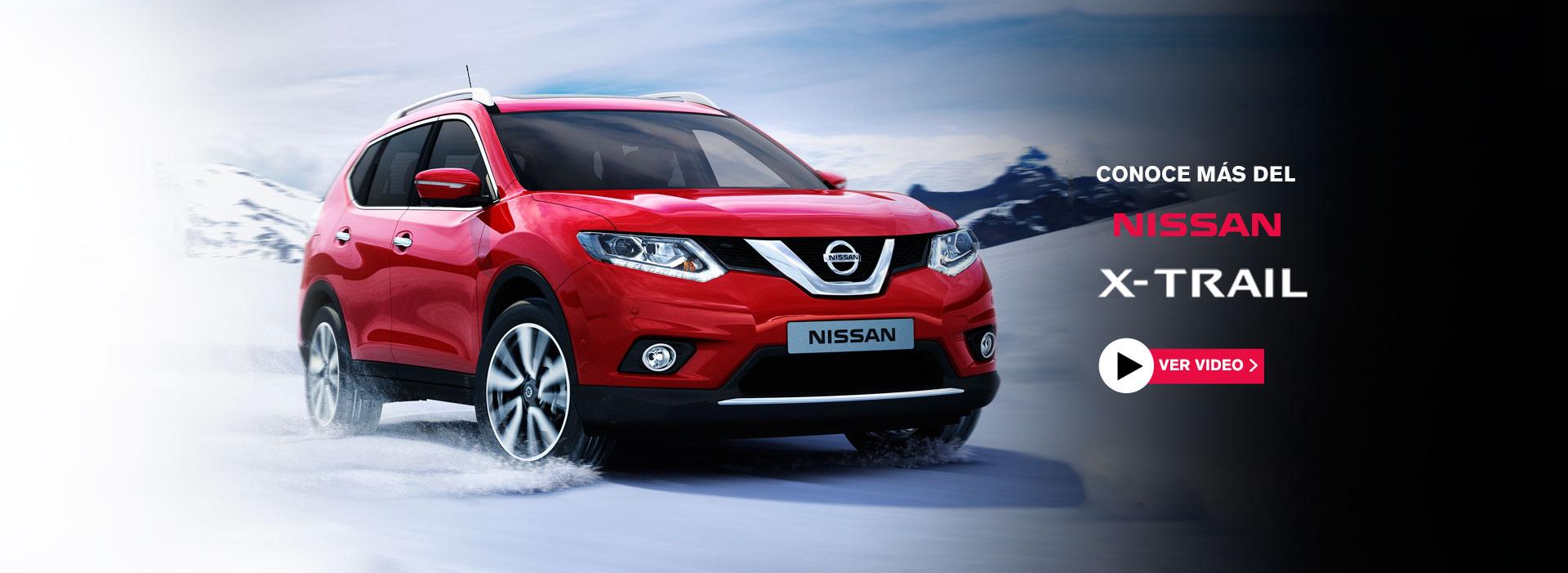 Conoce Nissan X-Trail