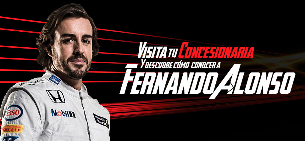 Conoce a Fernando Alonso