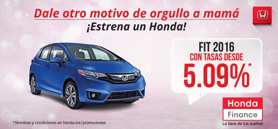 Promoción Honda Fit