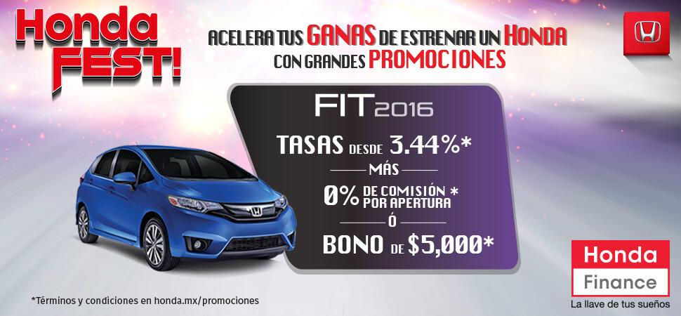 Promociones Honda FIT