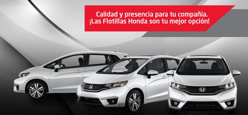 Flotillas Honda Excelencia