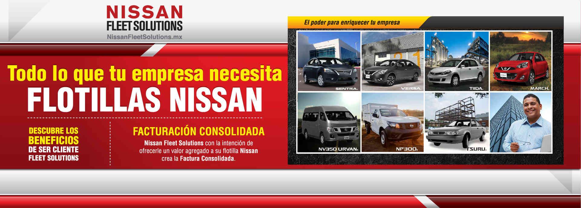 Flotillas Nissan