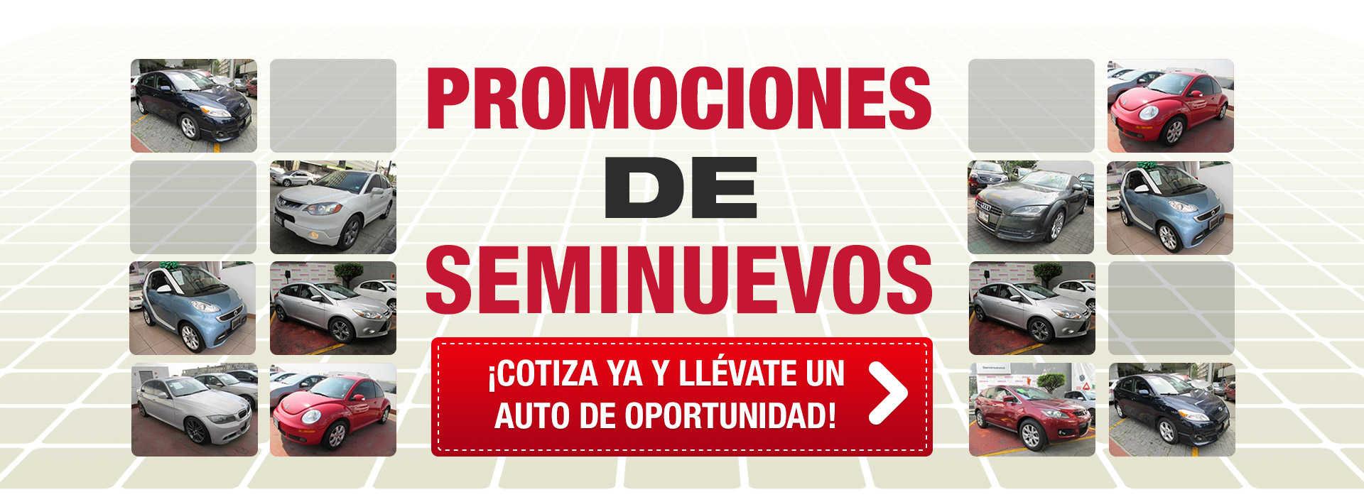 Promociones de Seminuevos