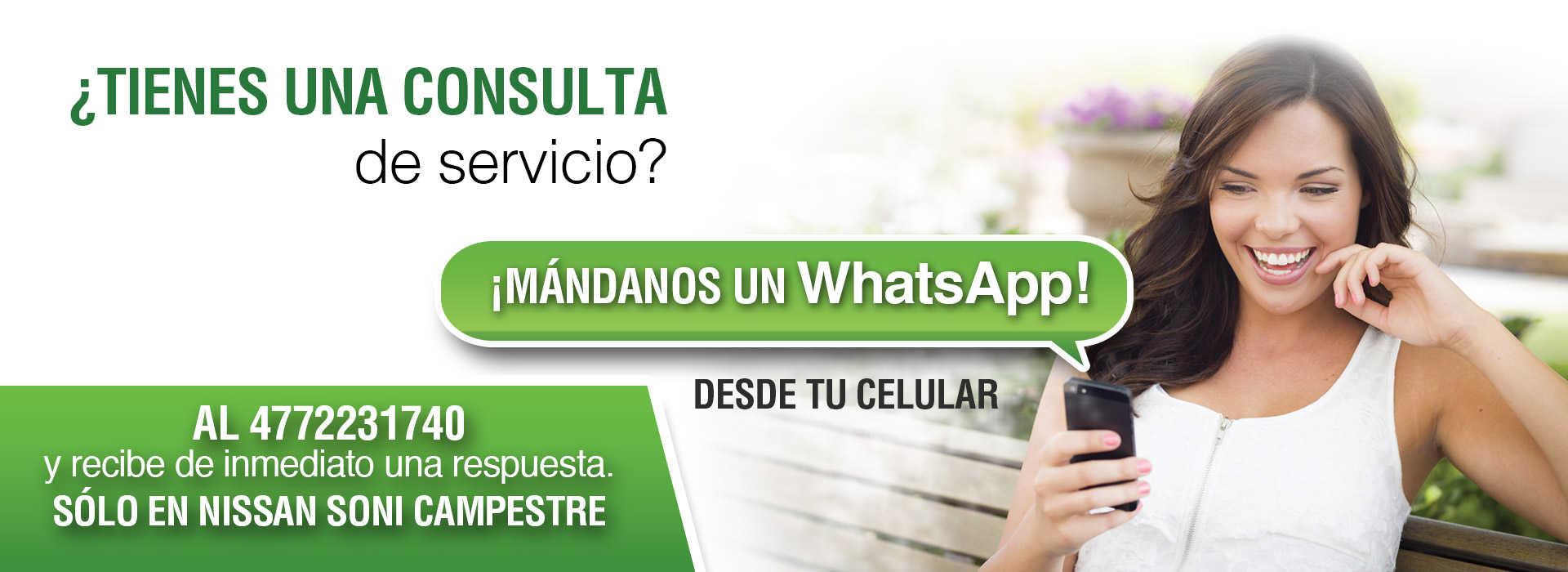Whatsapp servicio