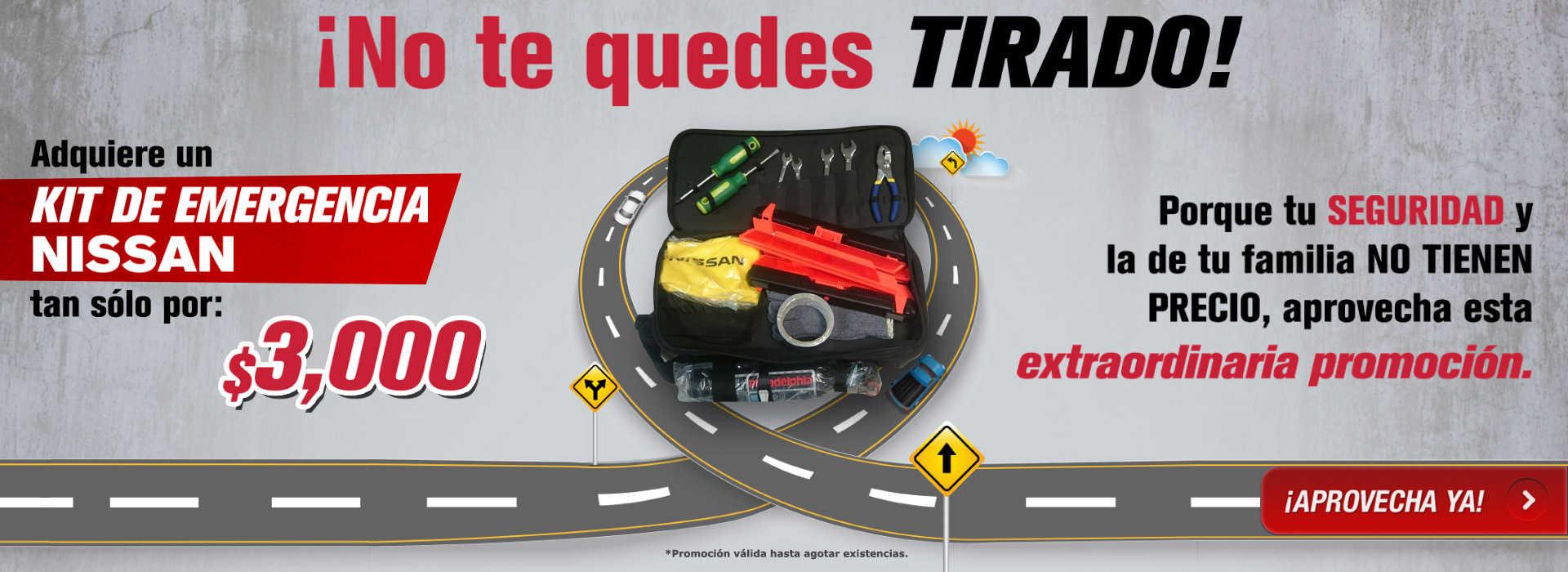 No te quedes tirado - Kit de Emergencia Nissan