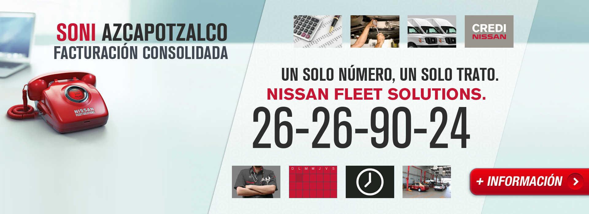 Un solo número, un solo trato - Nissan Fleet Solutions