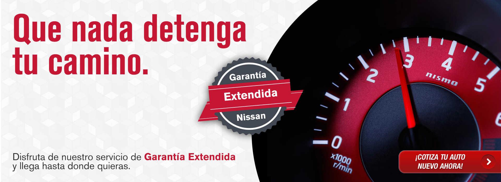 Garantía extendida Nissan