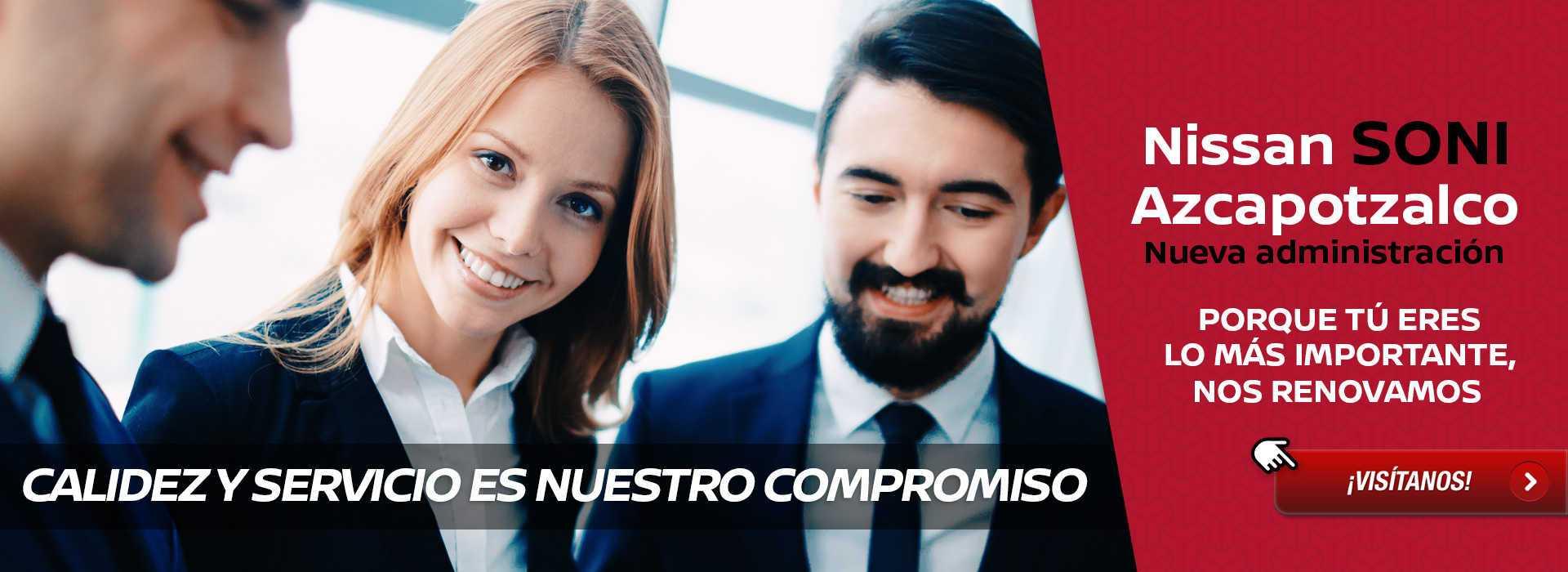 Nissan SONI Azcapotzalco - Nueva administración