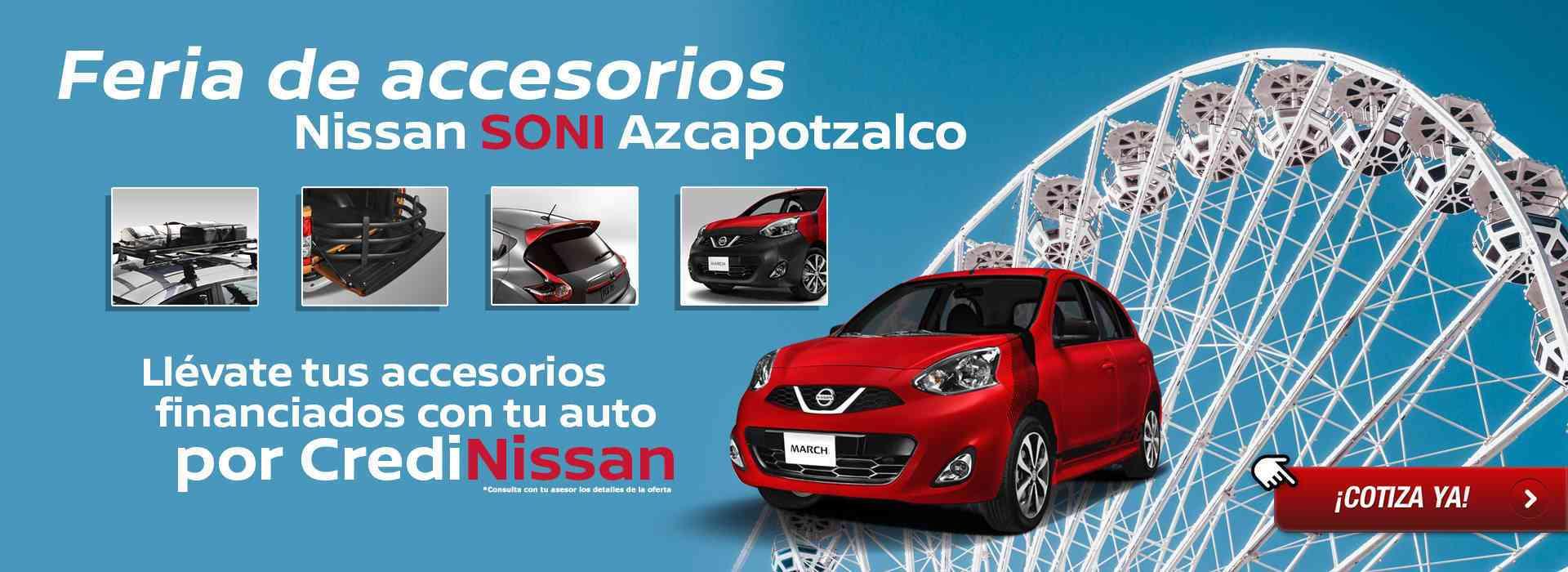 Feria de accesorios Nissan SONI Azcapotzalco