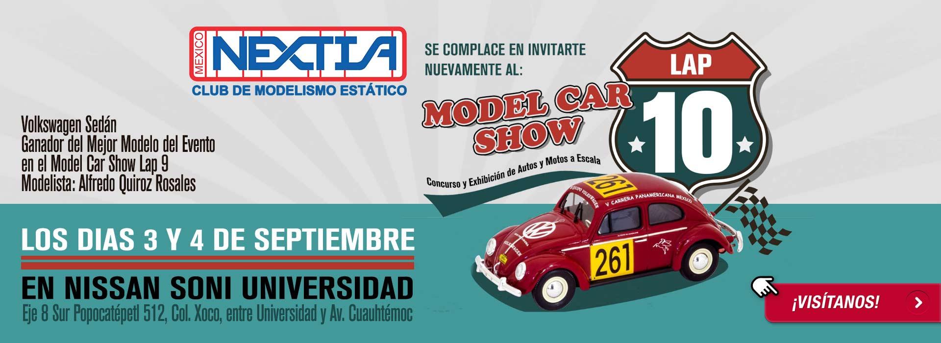 Participa en el Model Car Show 10