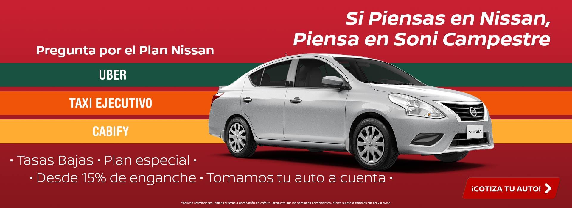 Si piensas en Nissan, piensa en SONI Campestre