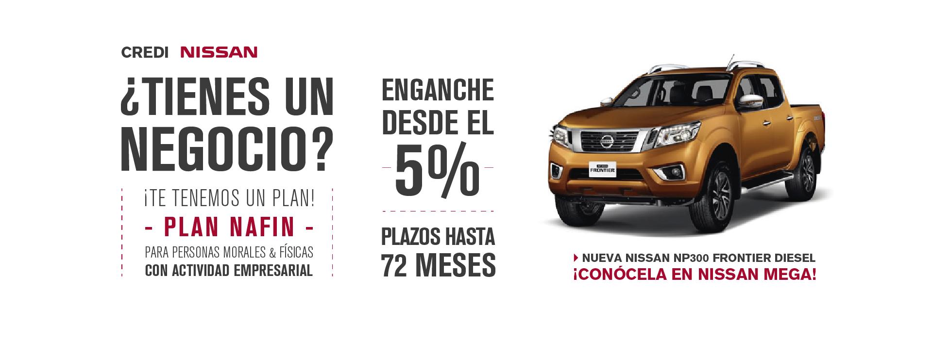 Nissan Empresarios Negocio Persona Moral Física Enganche Bajo