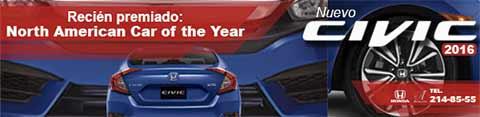 Nuevo Honda Civic 2016