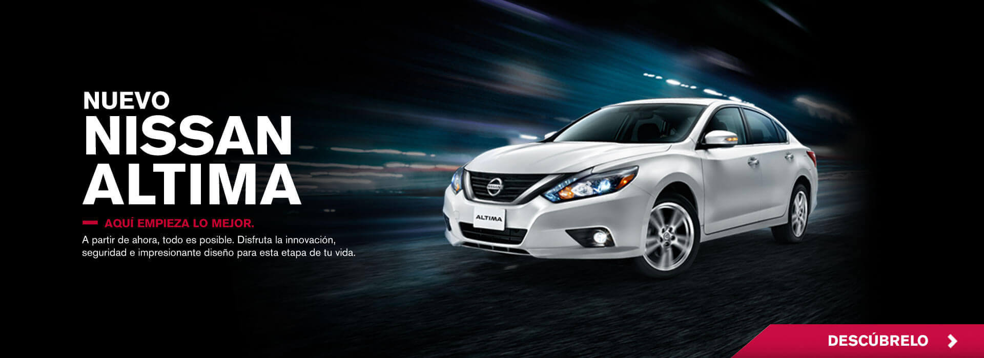 Nuevo Nissan Altima