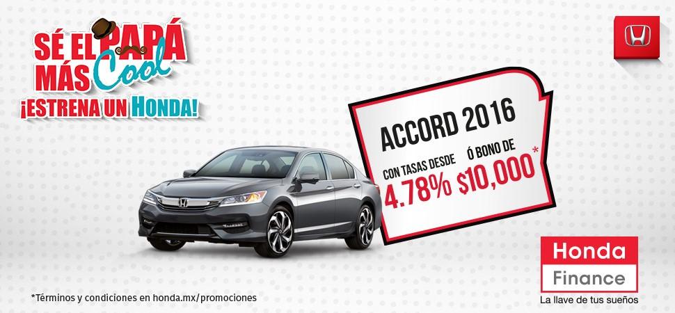 Promoción Honda Accord