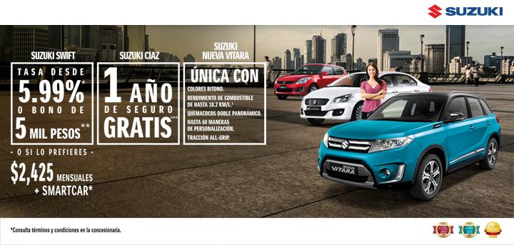 Promociones Suzuki