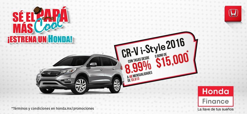 Promocíon Honda CR-V