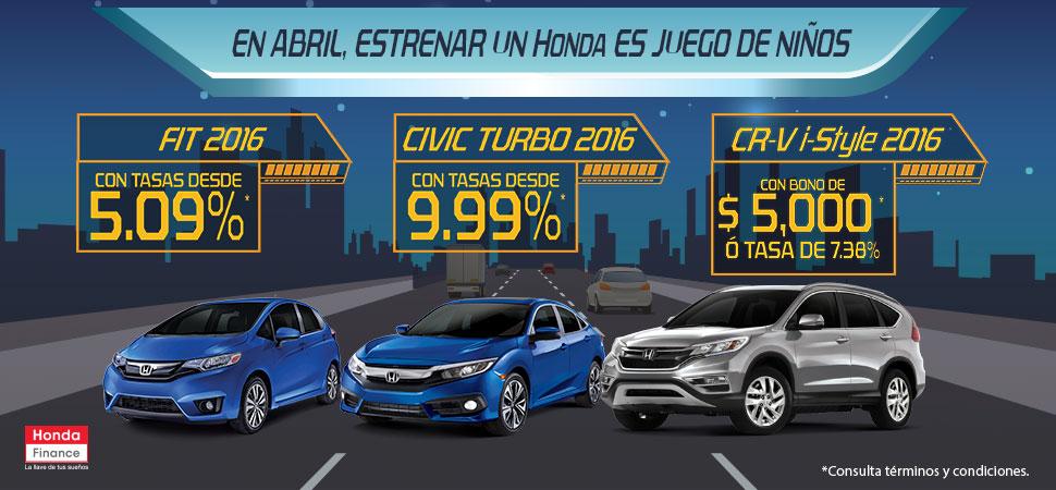 Promociones Honda