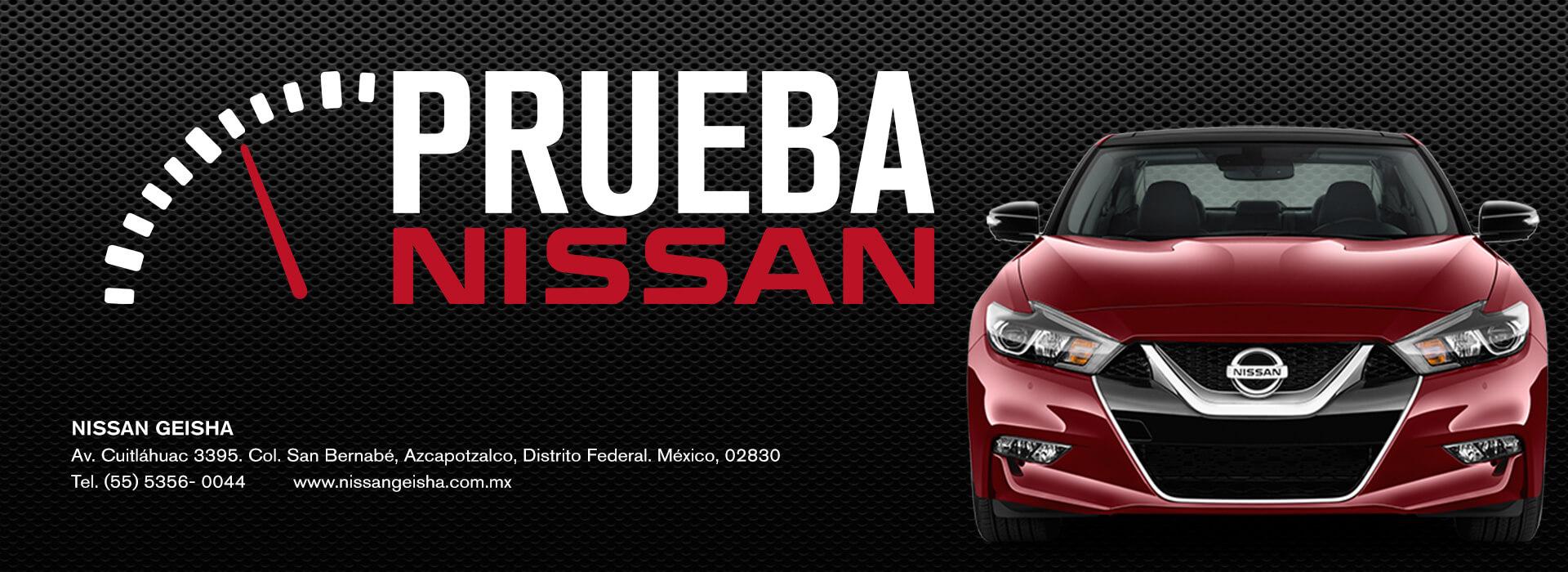 Prueba de Manejo Nissan