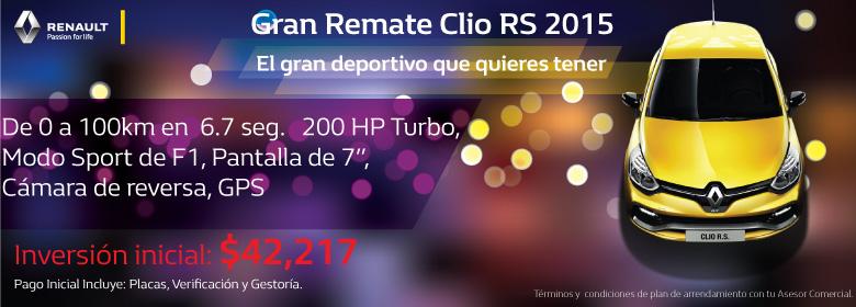 Remate Clio RS