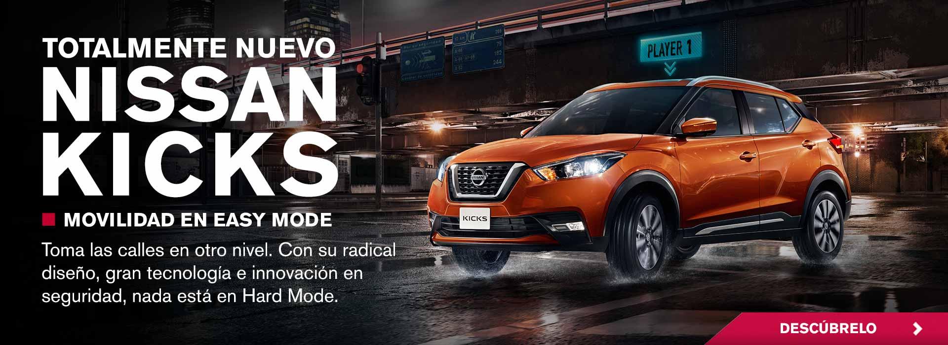Totalmente nuevo Nissan Kicks