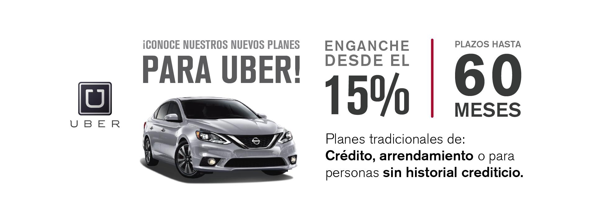 Planes Uber Financiamiento Beneficios Toluca Zinacantepec San Luis Almoloya Metepec