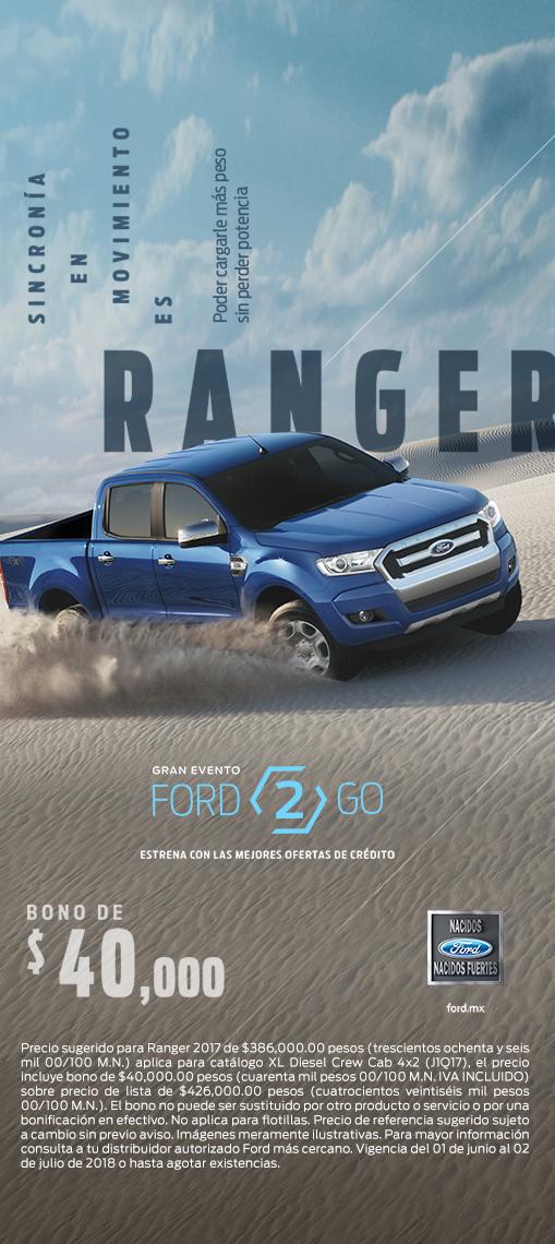 Promocion Ford Ranger Junio Distribuidores Ford Santa Fe Cdmx