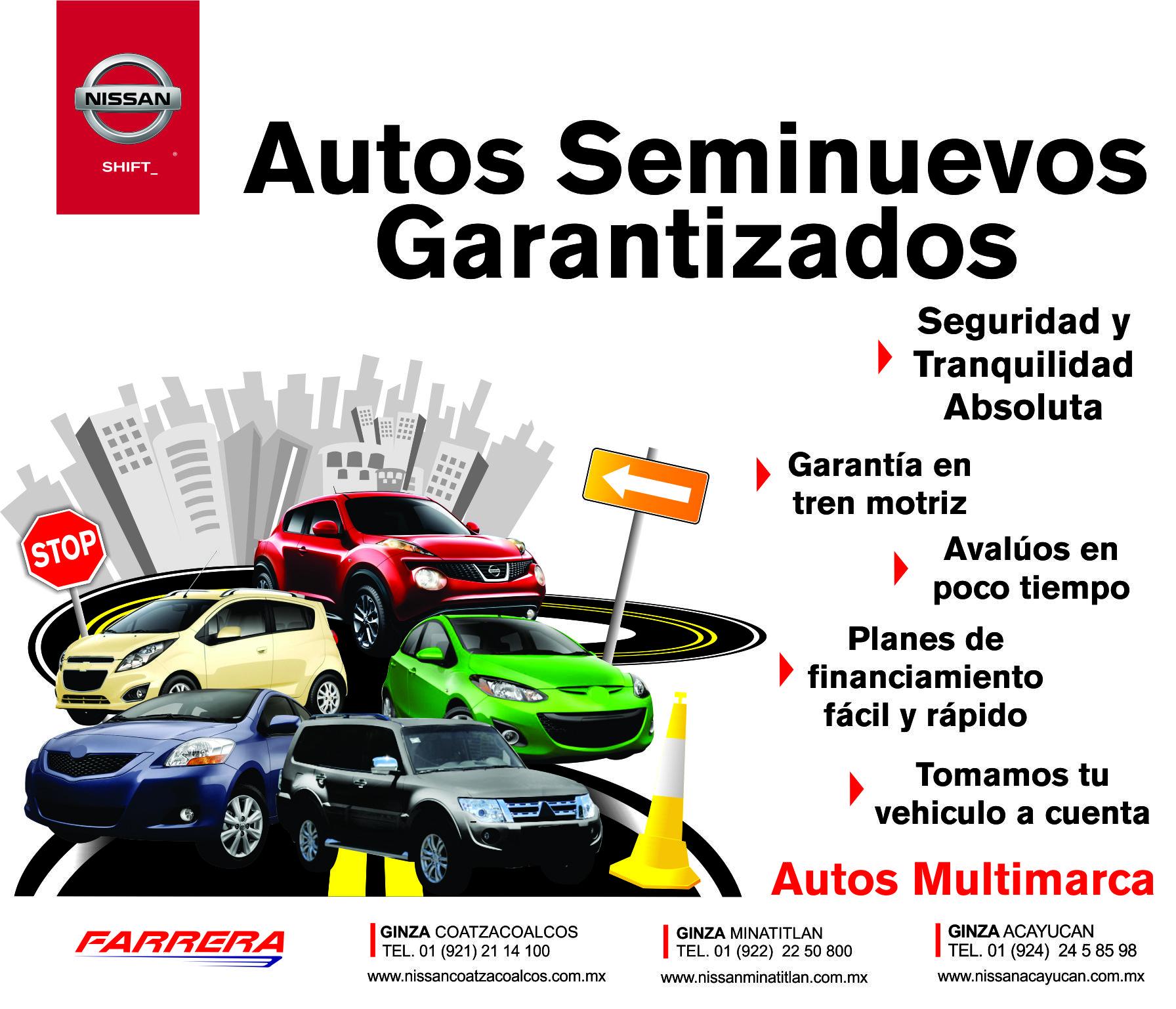 Autos Seminuevos Garantizados Nissan Ginza Coatzacoalcos