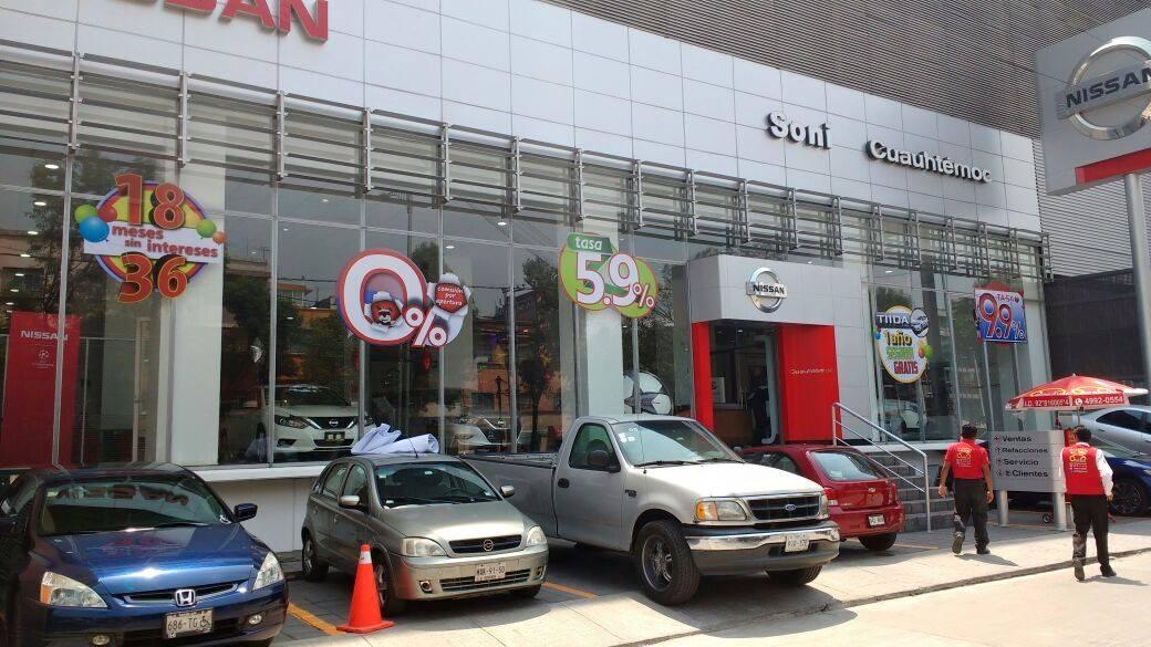 Nuestra Agencia Nissan Soni Universidad Sucursal